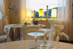 Tavolo Ristorante + lampade 2